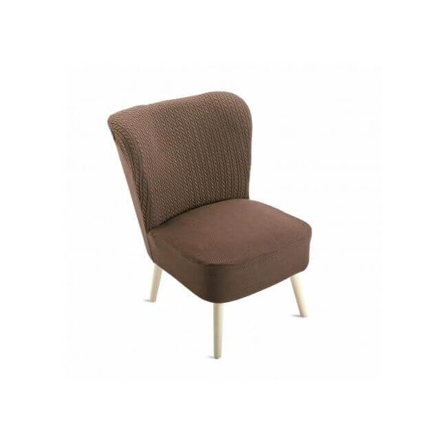 fauteuil vintage marron fauteuil pas cher. Black Bedroom Furniture Sets. Home Design Ideas