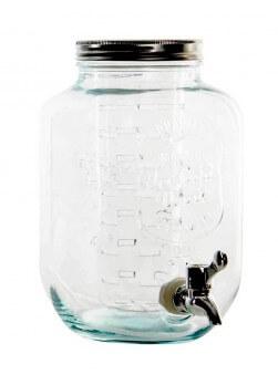 distributeur de boisson en verre avec robinet. Black Bedroom Furniture Sets. Home Design Ideas