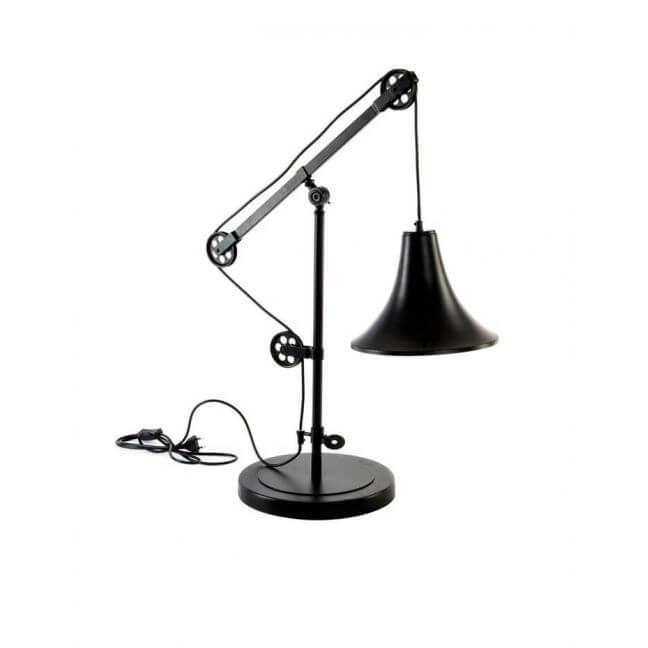 lampe industrielle lampe vintage lampe poser. Black Bedroom Furniture Sets. Home Design Ideas