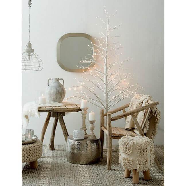 chaise branches en bois naturel scandinave. Black Bedroom Furniture Sets. Home Design Ideas