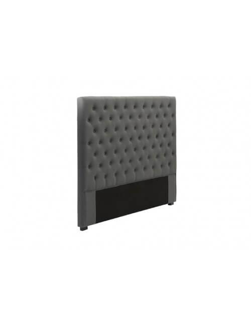 t te de lit capitonn e 140 cm lin beige mod le am lie. Black Bedroom Furniture Sets. Home Design Ideas