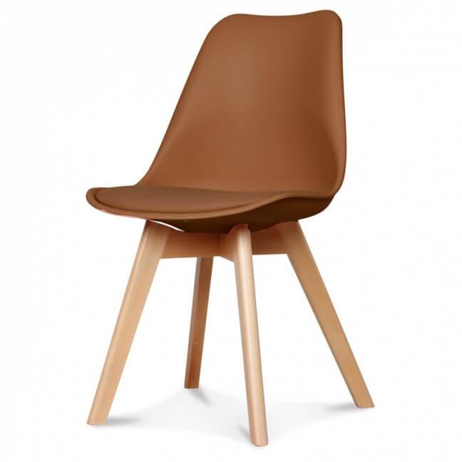 Chaise design scandinave chaise scandinave de couleur for Chaise scandinave couleur