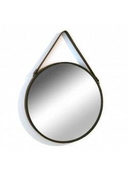 Miroir suspendu avec lani re for Miroir rond industriel