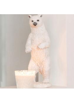 Statue ours polaire, ours blanc en résine