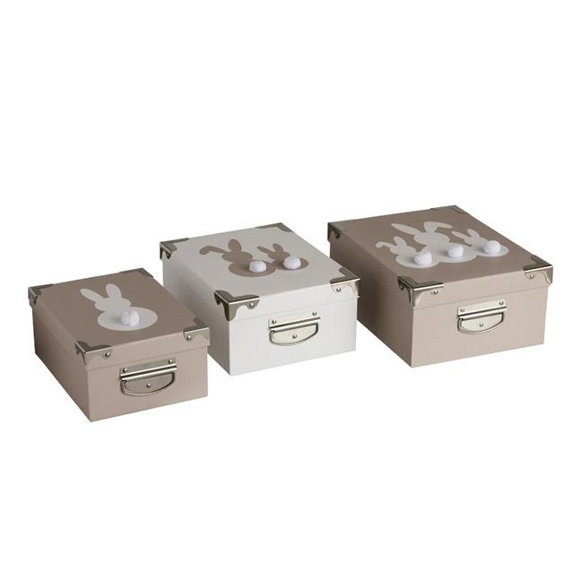 Boite De Rangement En Carton Boite Deco Lapin Kotecaz Fr
