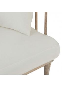 fauteuil chêne beige