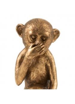 3 statuettes chimpanzés en résine,entendre,voir, se taire