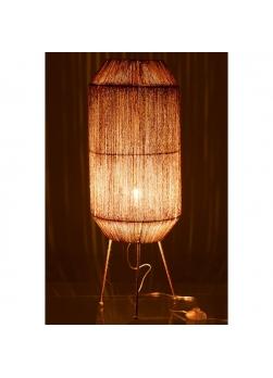Lampe sur pied en jute naturel