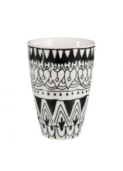 mug noir et blanc