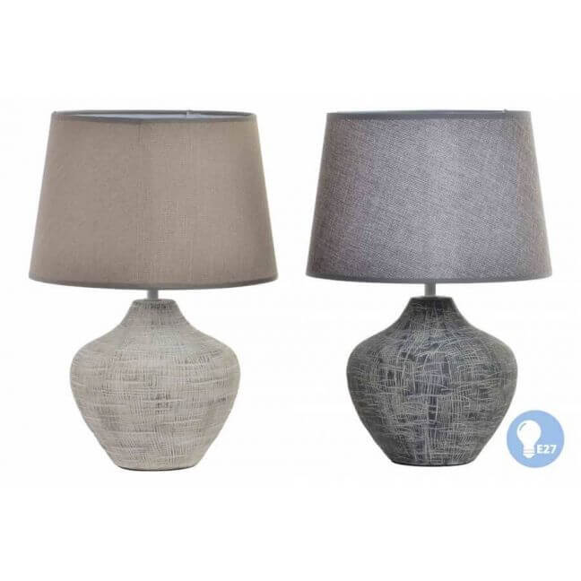 lampe ceramique avec pied aspect vieilli et craquele eglantine 5 Inspirant Lampe A Poser Ceramique Shdy7