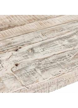 console d'entrée scandinave de couleur blanc vieilli