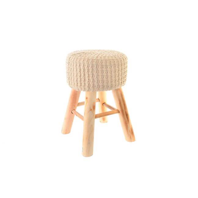 tabouret rond en bois tabouret scandinave. Black Bedroom Furniture Sets. Home Design Ideas