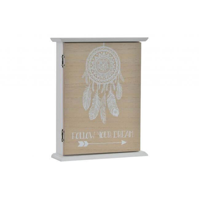 boite clefs murale en bois tr s tendance. Black Bedroom Furniture Sets. Home Design Ideas