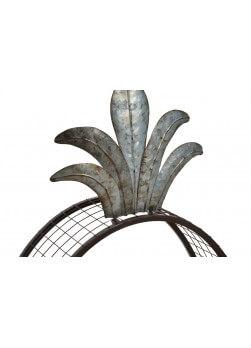 Etagère murale en forme d Ananas - bois - métal   Kotecaz.fr 6d3368cf1a59